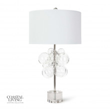 Bubbles Table Lamp, Clear | Gracious Style
