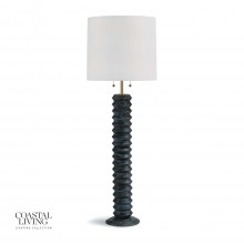 Accordion Floor Lamp, Ebony | Gracious Style