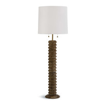 Accordion Floor Lamp, Natural | Gracious Style