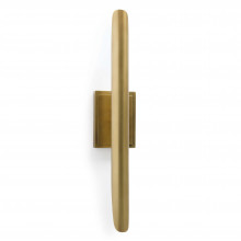 Redford Sconce, Natural Brass | Gracious Style