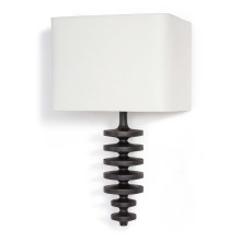 Fishbone Sconce, Ebony | Gracious Style