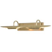 Redford Picture Light Large, Natural Brass | Gracious Style