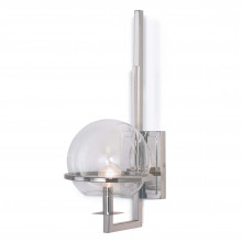 Saturn Sconce, Polished Nickel | Gracious Style