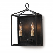 Cape Sconce, Blackened Iron | Gracious Style