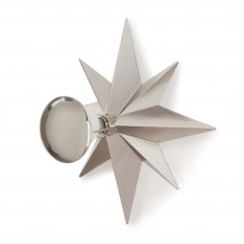 Hudson Sconce, Polished Nickel | Gracious Style
