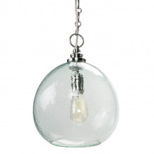 Glass Float Pendant, Recycled Glass | Gracious Style