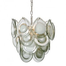 Mini Diva Chandelier, Grey | Gracious Style