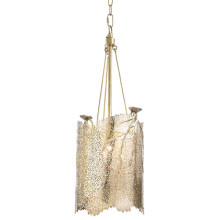 Sea Fan Chandelier Small, Polished Brass | Gracious Style