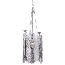 Sea Fan Chandelier Small, Polished Nickel | Gracious Style