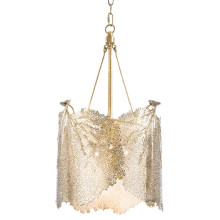 Sea Fan Chandelier Large, Polished Brass | Gracious Style