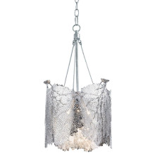 Sea Fan Chandelier Large, Polished Nickel | Gracious Style