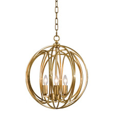 Ofelia Pendant Medium, Gold Leaf | Gracious Style