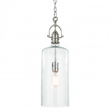 Bar Pendant, Polished Nickel | Gracious Style