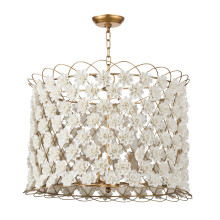 Alice Porcelain Flower Chandelier | Gracious Style