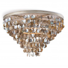 Capri Abalone Shell Flush Mount | Gracious Style
