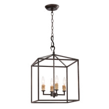 Cape Pendant Lantern Small, Black Iron | Gracious Style