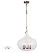 Dover Pendant, Polished Nickel | Gracious Style