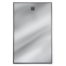 Hanging Rectangle Mirror, Steel | Gracious Style
