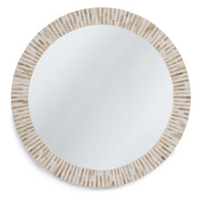 Multitone Bone Mirror | Gracious Style