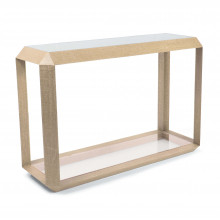 Aegean Console Table, Natural | Gracious Style