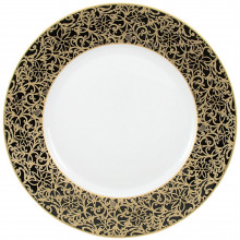 Salamanque Gold Black Dinnerware | Gracious Style