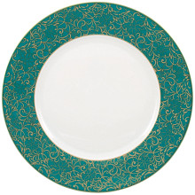 Salamanque Gold Turquoise Dinnerware | Gracious Style