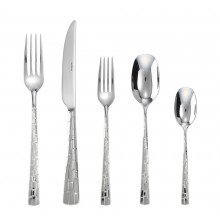 Skin Stainless 5 Pcs Place Setting H.H. | Gracious Style