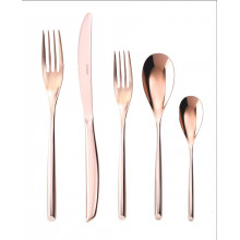 Bamboo Satin Copper Flatware | Gracious Style