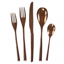 H-Art Copper Flatware | Gracious Style
