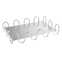 Kyma Arg Silverplated Rectangle 16 1/8 X 10 1/4 In., 3 3/8 H | Gracious Style
