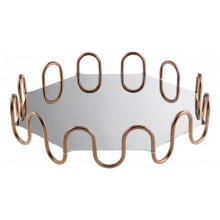 Kyma Pvd Pvd Copper Octagon 14 5/8 X 14 5/8 In., 3 3/8 H | Gracious Style