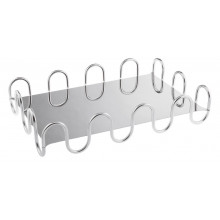 Kyma Inox Stainless Steel Rectangle Hi-Tech 16 1/8 X 10 1/4 In., 3 3/8 H | Gracious Style