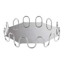 Kyma Inox Stainless Steel Octagon Hi-Tech 14 5/8 X 14 5/8 In., 3 3/8 H | Gracious Style