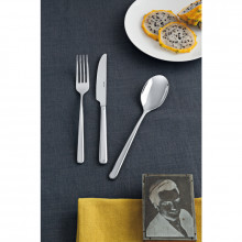 Linear Silverplated Flatware | Gracious Style