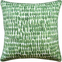 Rain Water Emerald Green Pillow | Gracious Style
