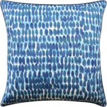 Rain Water Blue Turquoise Pillow | Gracious Style
