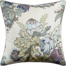 Fairbanks Plum 22 x 22 in Pillow | Gracious Style