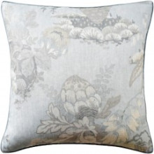 Fairbanks Spa Blue 22 x 22 in Pillow | Gracious Style