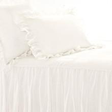 Savannah Linen Gauze Ivory Bedding | Gracious Style
