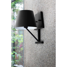 Concom Wall Lamp Black | Gracious Style