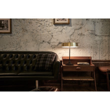 China Led Table Lamp Matte Brass/Black | Gracious Style
