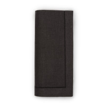 Festival Solid Black Table Linens | Gracious Style