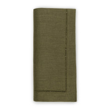 Festival Solid Hunter Table Linens | Gracious Style