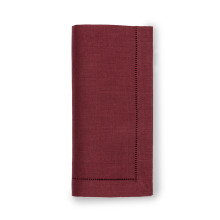Festival Solid Merlot Table Linens | Gracious Style
