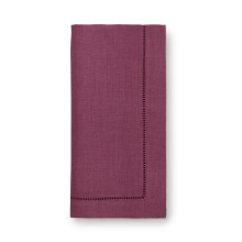 Festival Solid Plum Table Linens | Gracious Style