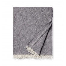 Ciarra - Fringed Throw 50x70 - Charcoal | Gracious Style