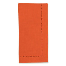 Festival Solid Tangerine Table Linens | Gracious Style