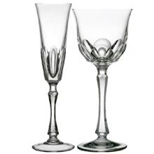 Formal Glassware Fine Engraved Crystal| Gracious Style