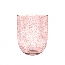 Bubble Acrylic 15.5 Oz Double Old Fashioned Blush | Gracious Style