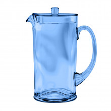 Cordoba Acrylic 78 Oz Pitcher With Lid Soft Blue | Gracious Style